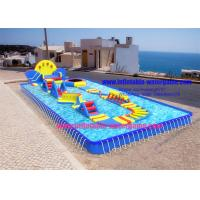 Wholesale Summer Inflatable Outdoor Water Toys , Ultimate Inflatable Backyard Water Park from china suppliers