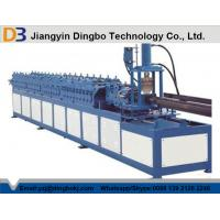 Buy cheap Mitsubishi PLC Door Frame Roll Forming Machine With Color Customized 12-15m/min from wholesalers