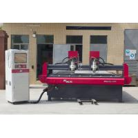 Wholesale two heads cnc vaccum machinery 2500*2500mm cnc woodworking carving machine from china suppliers