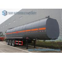 Wholesale Carbon Steel container semi trailer 45000L 3 Axle Ellipse Shape from china suppliers