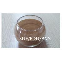 Wholesale Poly naphthalene sulfonate SNF / PNS / FDN powder Construction / Textile Use from china suppliers