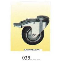 Wholesale Industrial Caster rubber caster top hole with brake035 from china suppliers