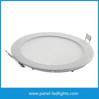 Quality High Efficiency Ultra Slim Led Panel Light , 3w Led Round Panel Light AC85-265V for sale