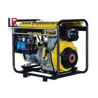 Wholesale Home Emergencies Moving Small Diesel Generator 5kw PF 1 with Electric Start from china suppliers