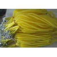 Wholesale Yellow cool color cute high quality strong pulling anti-drop safety line coiled lanyards from china suppliers
