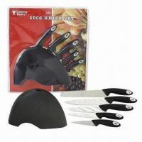 Wholesale 5-piece Knife Set with Block from china suppliers
