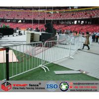 Wholesale Galvanized Barricades, Powder Coated Barricades,Crowd Control Fence from china suppliers