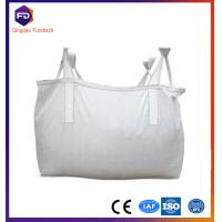 Quality fibc bag 300kg-2000kg , ton bag coated woven polypropylene bags fibc for animal feed for sale