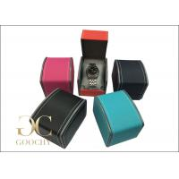 Wholesale Watch Display Showcase / Leather Watch Boxes Sewing Stitching from china suppliers