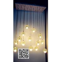 Wholesale Handblown glass ceiling lightings for sale , China supplier from china suppliers