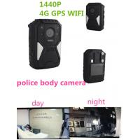 Wholesale OEM 1440P Wearable Wifi Camera / Waterproof Live Streaming Body Camera With 4g Gps from china suppliers