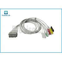 Wholesale Drager 5956466 ECG trunk cable , Dual pin connector 5 lead ECG Cable from china suppliers