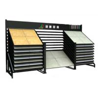 Wholesale Metal Ceramic Tile Sample Board Display Rack With Square Tube from china suppliers