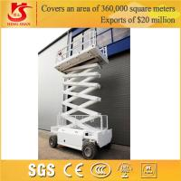 Wholesale self propelled hydraulic scissor lift with 2 years Warranty part from china suppliers