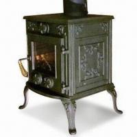Wholesale Cast Iron Collage Wood and Coal Heating Stove with Blanking Plate from china suppliers