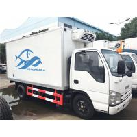 Wholesale ISUZU 4 Ton - 5 Ton Ice Box Truck , 3 Layer Refrigerated Cold Room Truck from china suppliers