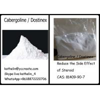 Wholesale Pharma Raw Powder Cabergoline / Dostinex Reduce the Side Effect of Steroid CAS: 81409-90-7 from china suppliers