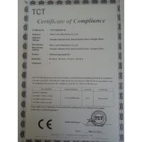 Wuxi Luole Machinery Co., Ltd Certifications