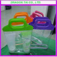 Wholesale Pvc storage bag with  plastic handle, Cosmetic bag from china suppliers