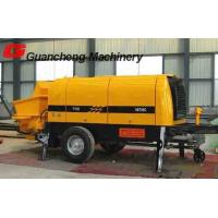 Wholesale Electric motor portable concrete pump HBT30S high efficiency from china suppliers
