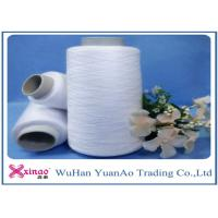 Wholesale Z / S Twist 100 Polyester Spun Yarn Single Yarn / Polyester Weaving Thread For Sewing from china suppliers