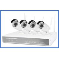 Buy cheap 720p 4ch h.264 Wireless Nvr Kits High Resolution 1/4 Coms Sensor For Family/Store from wholesalers