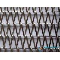 Wholesale Balanced Flat Spiral Wire Weave Mesh for Architectural Decoration from china suppliers