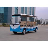 Buy cheap Blue 11 Seater 48V Electric Sightseeing Car Golf Carts With CE Certificate from wholesalers