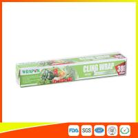 Wholesale Food Grade PE Food Packing Plastic Wrap , Stretch Wrap Film For Kitchen from china suppliers