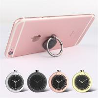 Wholesale Universal 360 Degree Rotating Cellphone Watch Finger Grip Ring Holder with Magnetic Catch Piece Inside for Cellphone from china suppliers