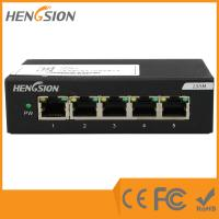 Wholesale 1.6Gbps Enterprise Network Switch 5 megabit Port 5 fast ethernet port from china suppliers