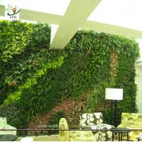 Wholesale UVG GRW030 Green Color Artificial Plants and Flowers for Outdoor Garden wall Grass Walls from china suppliers