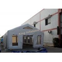 Wholesale White Waterproof Inflatable Tent 0.4mm PVC Tarpaulin For Outdoor Events from china suppliers