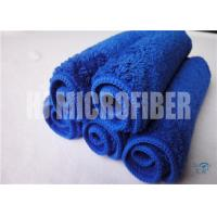 Wholesale Super Absorbency Blue Color Hand Towel Mixrofiber Coral Fleece Towel For Kitchen from china suppliers
