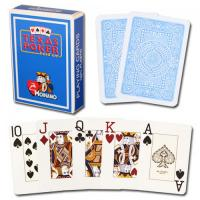 Wholesale XF Modiano Texas Holdem 2 Jumbo Index|light blue Single Card Deck|100% PVC  Made in Italy|magic dice in gambling from china suppliers