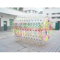 Wholesale Clear giant climbing inflatable water roller , water rotary wheel from china suppliers