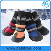 Wholesale China Manufacturer Pet Supply Product Winter Medium and Large Pet Dog Snow Boots from china suppliers