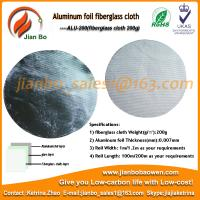 Buy cheap Aluminum foil fiberglass cloth thermal insulation material from wholesalers