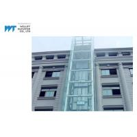 Wholesale 180 Degree Outdoor Sightseeing Passenger Elevator Speed 1.0~1.75m/s with Steel Structure Shaft from china suppliers