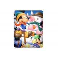 Quality Ipad 2 Silicone Cases Cover with Custom Non - Corrosiveness Mickey Mouse design for sale
