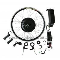 Wholesale Bicycle 48V 350W Rear Hub Motor Electric Bike Conversion Kits 32Km / H from china suppliers