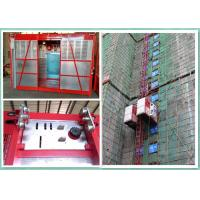 Quality Construction Site Personnel And Materials Hoist Elevator With Safety Hook for sale
