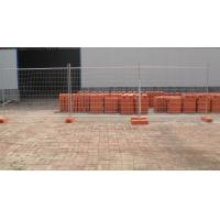 Wholesale STRAHAN temporary fencing panels 2100mm x 2400mm OD 32 x 2.00mm infill mesh 60mm x 150mm x 4.00mm from china suppliers