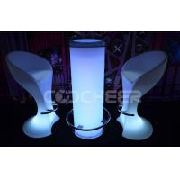 Wholesale Glass Top Lighted Cocktail Tables High Top Led Bar Furniture from china suppliers