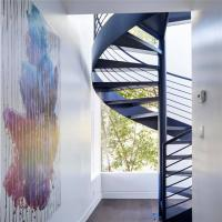 Buy cheap Indoor curve modern spiral staircase designs from wholesalers