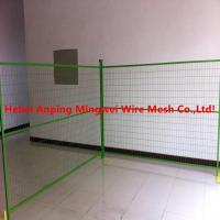 Buy cheap Galvanized Temp Fencing For Construction Vr/ curva valla / muro con pliegues from wholesalers