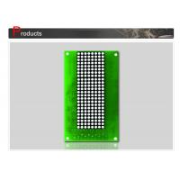 Wholesale Dot Matrix Display Panel , Elevator LCD Display Green 132 X 70mm SN-DPC2 from china suppliers