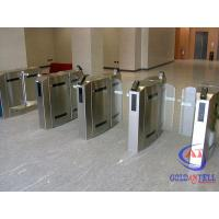 Wholesale Led Light RFID Safety Access Pedestrian SecuritySwing Gate Infrared Swing Gate Barrier from china suppliers