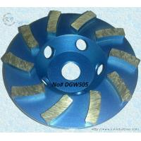 Wholesale Diamond Segmented Turbo Cup Grinding Wheel for Grinding and Polishing Granite - DGWS05 from china suppliers