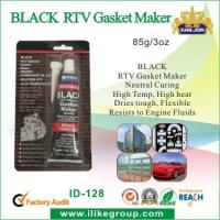 Wholesale High Temp Silicone Rubber Sealant , Black RTV Gasket Maker For Vehicle Body from china suppliers